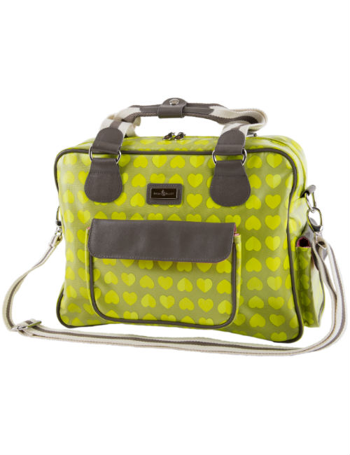 Confetti Lime Baby Changing Bag
