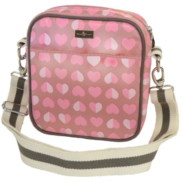Confetti Pink Baby Bottle Bag