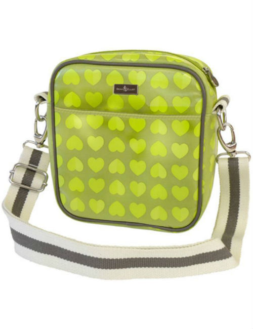 Confetti Lime Baby Bottle Bag