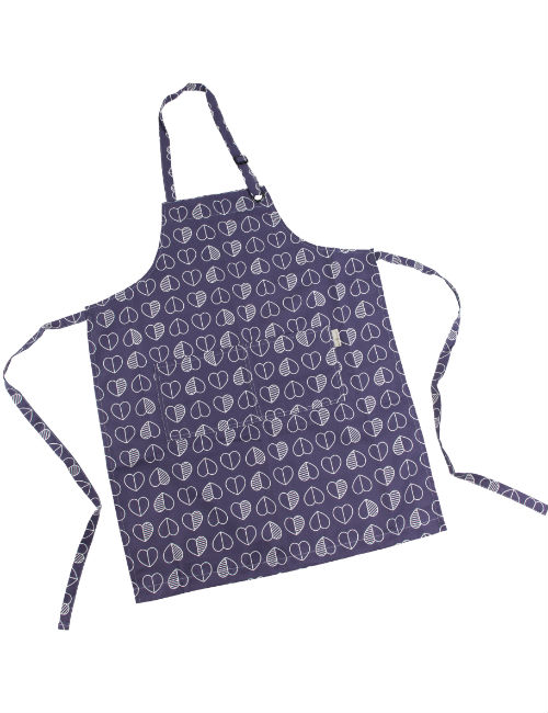 Midnight Outline Apron