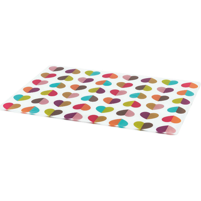 Confetti Glass Worktop Saver