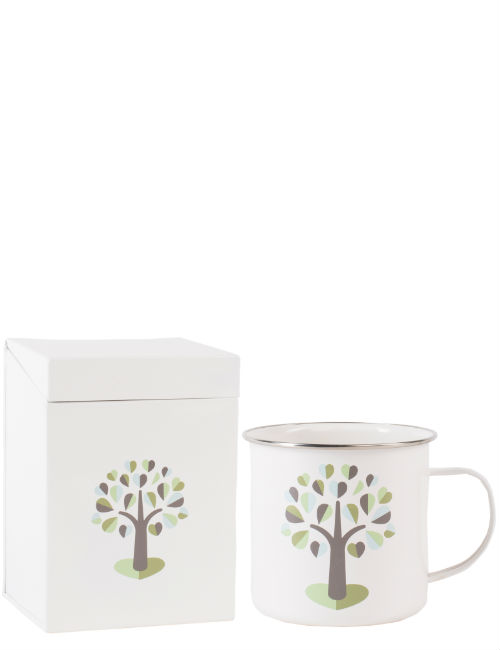 Orchard Large Seed Box & Enamel Mug