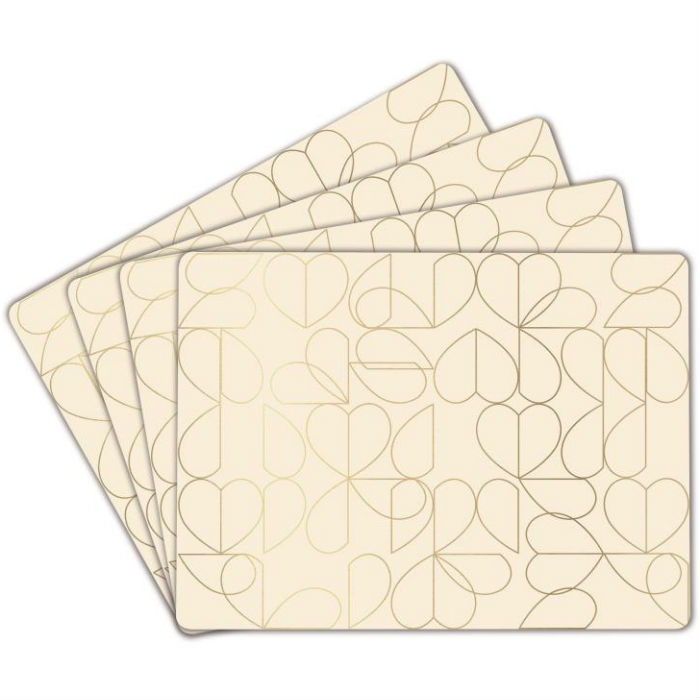 Oyster Placemats Set of 4