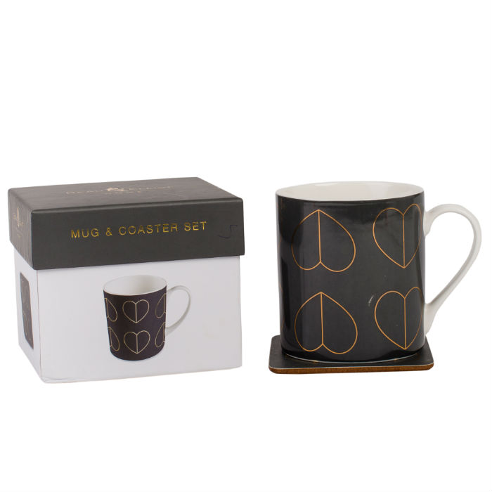 Dove Mug & Coaster Set