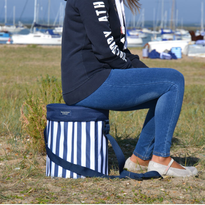Coast Navy Seat Cooler