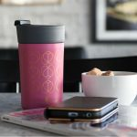 Orchid Travel Mug