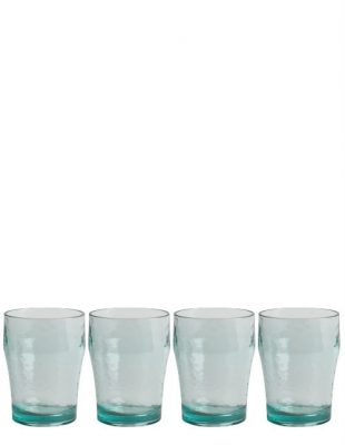 Recycled Glass Effect Set of 4 Tumblers