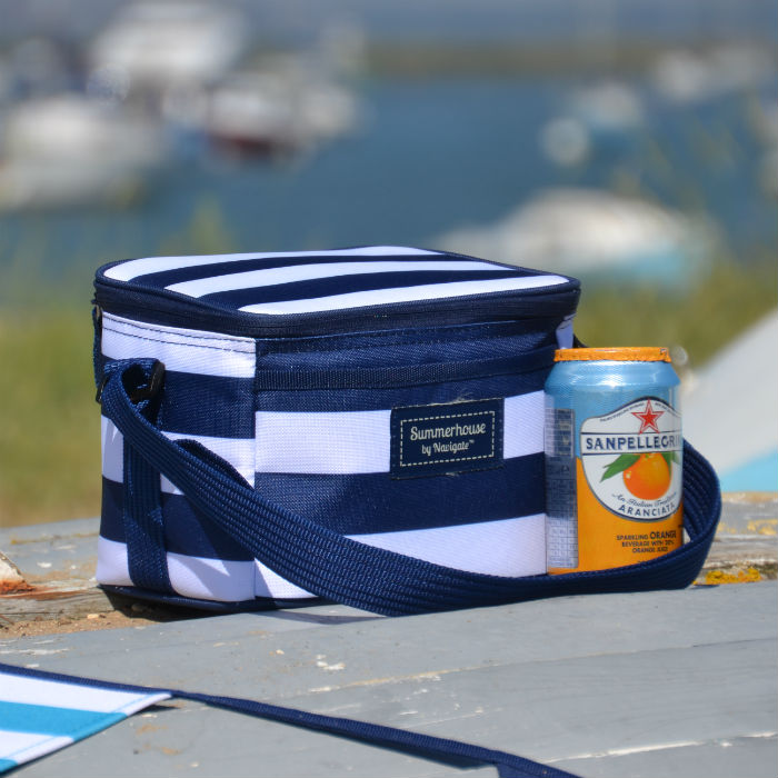 Coast Personal Cool Bag Navy & White