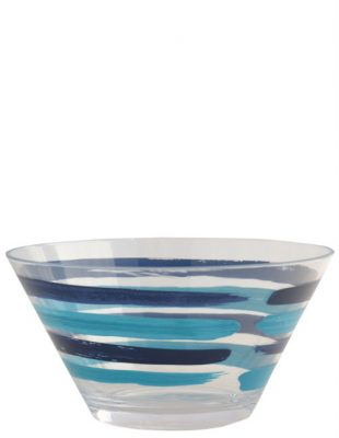 Patterned Salad Bowl