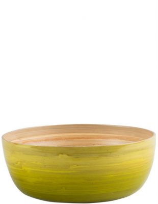 Limb Ombre Bamboo Fruit Bowl