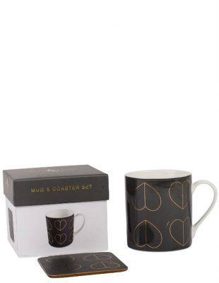 Dove Mug Coaster Set in Gift Box