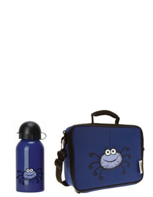 Spider Drinks Bottle & Lunch Bag