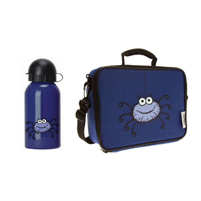 Spider Bottle & Lunch Bag
