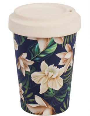 Java Bamboo Travel Mug