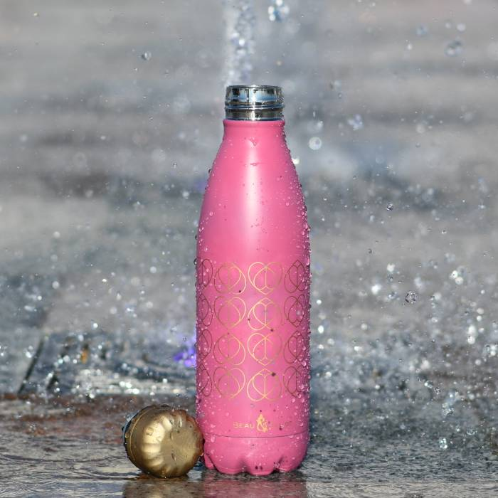 500ml Vacuum Insulated Drinks Bottle Orchid