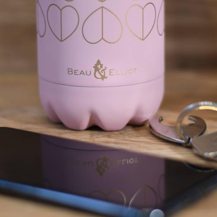 500ml Vacuum Insulated Drinks Bottle Blush