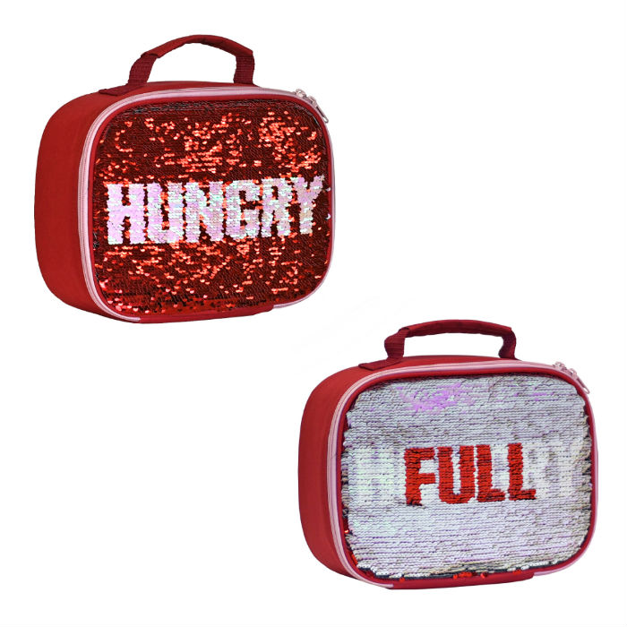 Sequins Full - Hungry Lunch Bag