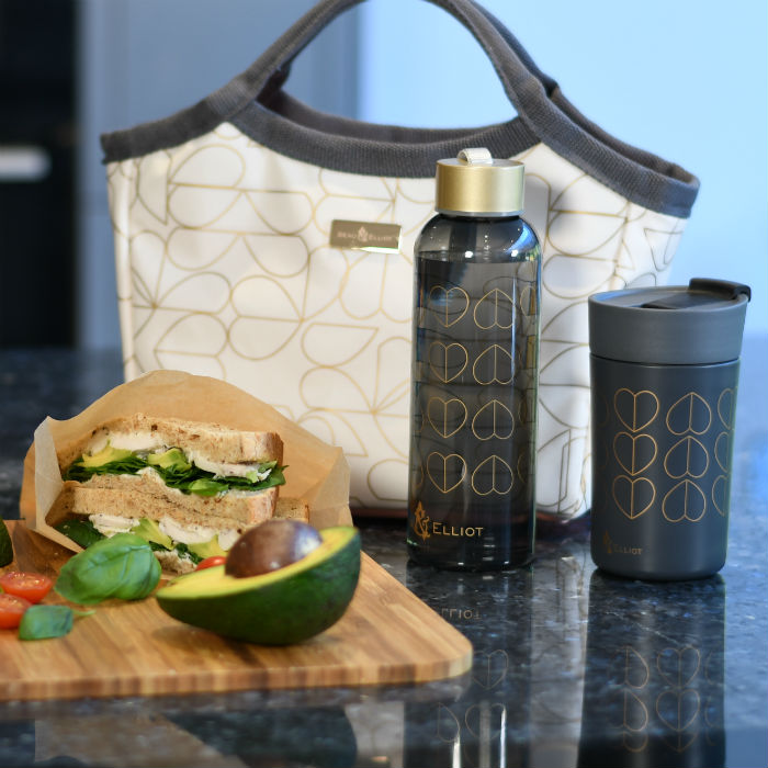 Lunch Bag, Bottle & Travel Mug