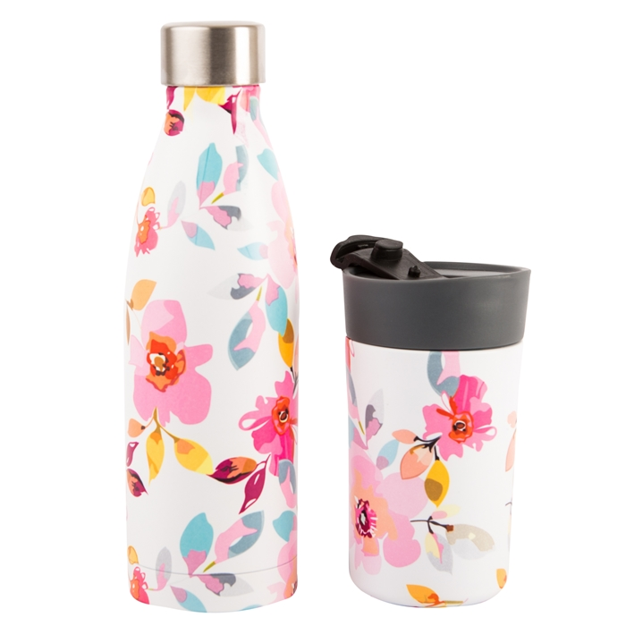 Gardenia 500 ml Drinks Bottle & Travel Mug