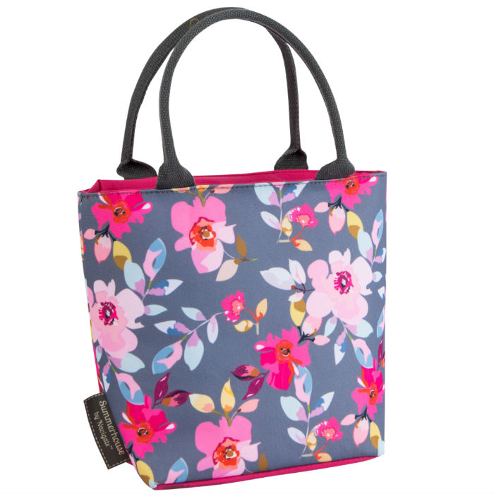 Gardenia Grey Lunch Tote