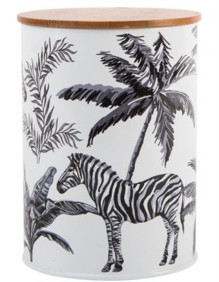 Zebra Repeat Canister