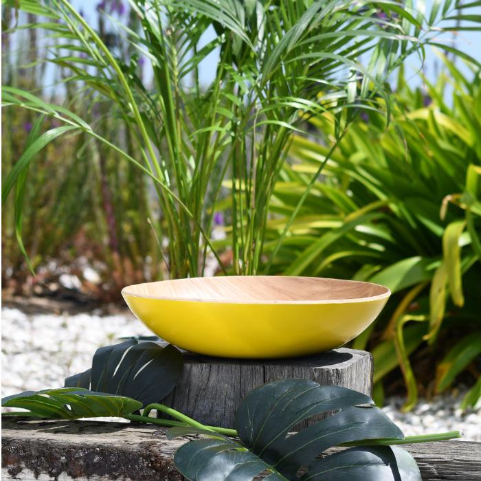 Mustard Fruit Bowl from Madagascar range