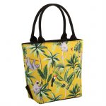 Madagscar Lunch Tote Sloth Mustard