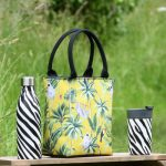 Madagscar Lunch Tote, Drinks Bottle & Travel Mug Sloth Mustard