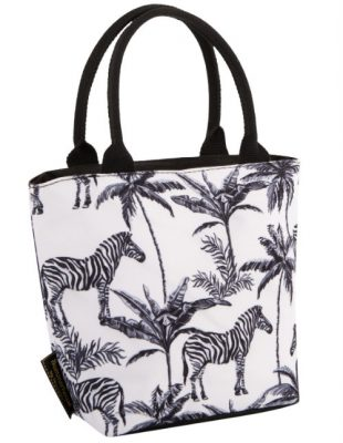 Lunch Tote Zebra Repeat