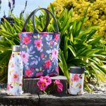 Gardenia Lunch Bag, Travel Mug & Drinks Bottle