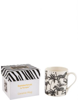 Madagascar Zebra Repeat Mug