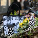Madagascar Zebra Insulated Lunch Tote