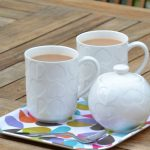 Beau & Elliot Embossed Mug - Set of 4