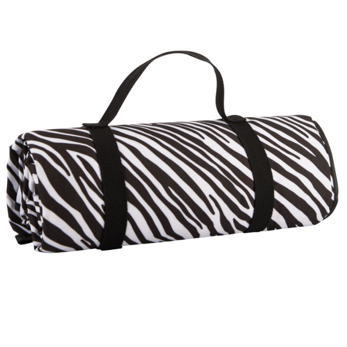 Madagascar Picnic Blanket / Picnic Rug- Zebra Stripe