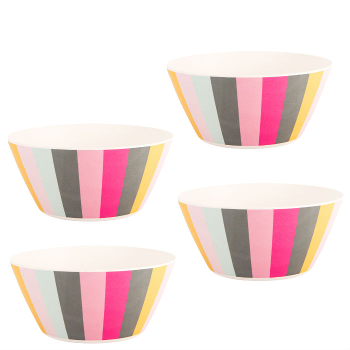 Gardenia Set of 4 Dessert Bowls