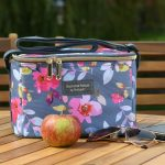 Gardenia Personal Cool Bag Grey Floral