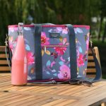 Gardenia Shoulder Tote Bag - Floral