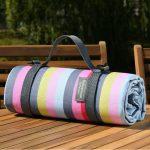 Gardenia Picnic Blanket - Stripe