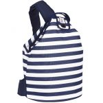 Coast Navy Stripe Insulate duffel Bag