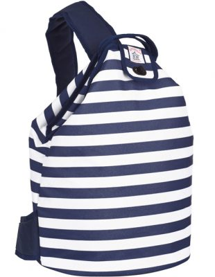 Coast Navy Stripe Insulate duffel Bag