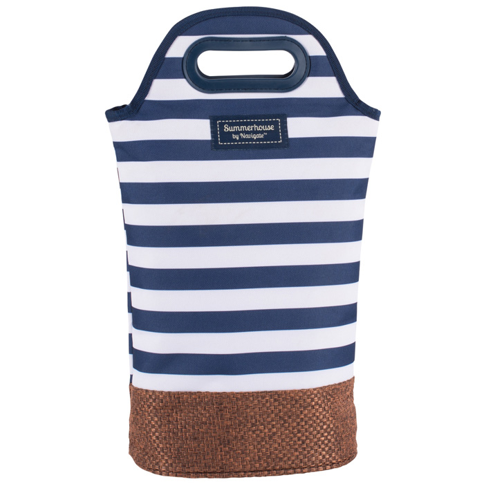 Coast Insulated Twin Bottle Carrier Navy
