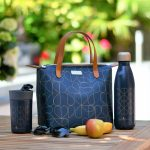 Navy 7L Luxury Lunch Tote