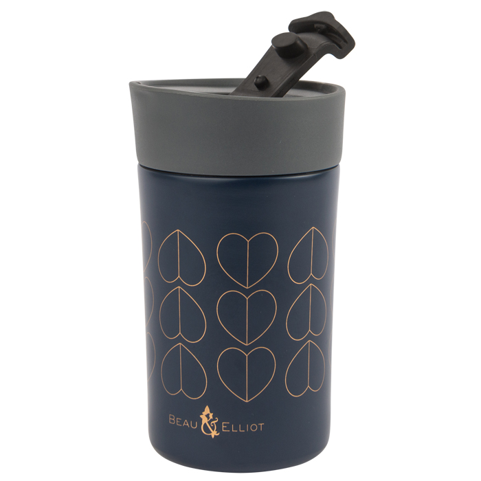 Navy 300ml Travel Mug