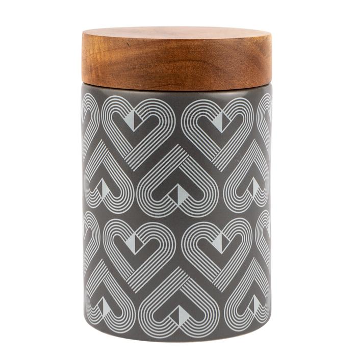 VIBE Slate Ceramic Canister