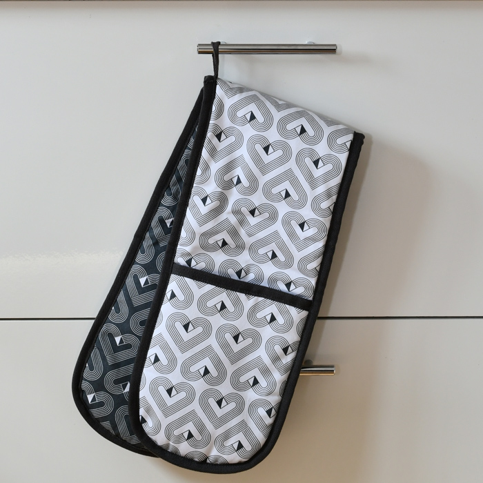 Vibe Double Oven Gloves / Chalk