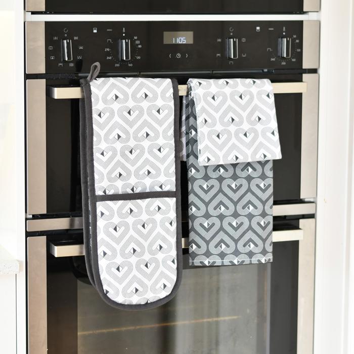 VIBE Twin Pack of Tea Towels