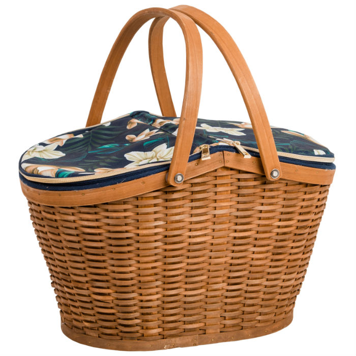Java 4 Person Baker Style Basket