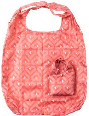 VIBE Foldaway Shopper Coral