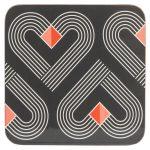 VIBE Slate Coasters Set of 4
