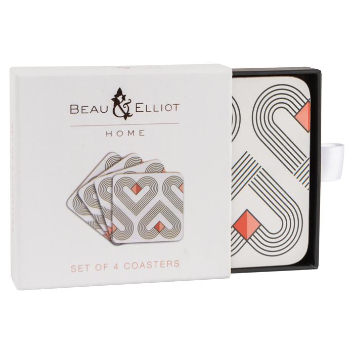 VIBE Chalk Coasters Set of 4
